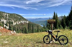 Gospel Hump Square Mountain Lookout Ride (Doug Goodenough) Tags: bicycle bike ride pedals spokes gospel humps mountains lakes ebike trek powerfly 97 jen scott lookout square 29 summer 2019 sept september drg531 drg53119 drg53119p