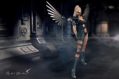 FURY (Rachel Swallows Inworld Elenamicheals Core) Tags: accessories corebyrachelswallows cyber fashion genus goggles guns haveunequal liaisoncollaborative maitreya mask nomatch roleplay sciencefiction scifi secondlife wiccasoriginals wings wlrp