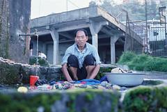 Outdoor laundry (Dare to share) Tags: india westbengal sonada darjeeling asia tibetan himalaya man washing water clean village jonasthoren