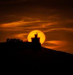 Baiona (Noel F.) Tags: sony a7riii a7r iii fe 100400 gm baiona fortaleza torre principe parador sunset solpor galicia galiza