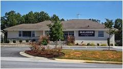 Malones Automotive | Repurposed Ranch Style Home | Marietta, GA (steveartist) Tags: house ranchstyle paintedbricks road parking trees flowers grass malonesautomotive marietta georgia sonydschx80 repurposedbuilding photostevefrenkel