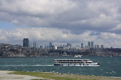 Istanbul (lazy south's travels) Tags: istanbul turkey turkish city bosphorus golden horn boat ferry building architecture modern skyline