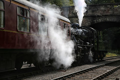 52 in 2019 Challenge - #20 - Smoke (crafty1tutu (Ann)) Tags: travel holiday 2019 52in2019challenge 20smoke steamtrain smoke carriage unitedkingdom uk derbyshire wirksworth duffield train crafty1tutu canon5dmkiii canon24105lserieslens anncameron