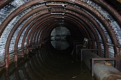 Flooded tunnel (gcat79) Tags: abandoned urbex urbanexploration derelict disused airraidshelter scotland