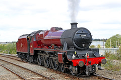 45699 LMS Jubilee Class 'Galatea' (Roger Wasley) Tags: 45699 lms jubilee class galatea westcoast railway stratforduponavon steam locomotive engine train heritage preserved preservation station warwickshire hms crewe