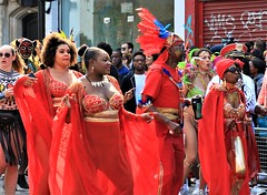 dressed in red (Artee62) Tags: canon eos 7d hackney carnival people