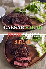 CAESAR SALAD WITH SKIRT STEAK (dtzapztl76) Tags: recipe stick steak dinner recipes yummy food meat