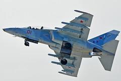 "Yakovlev Yak-130 ""01 Red"" (Nils Mosberg) Tags: maks2019 yakovlevyak130 russianaerospaceforces"