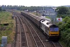 "60099 ""Ben More Assynt"" 6E33 Castleton 050817 (jim40135) Tags: class60 brushtraction 60099 benmoreassynt mainlinefreight castleton cargowaggon"