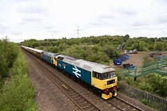 47853 / 593 Beighton Jn 07 Sep 19 (doughnut14) Tags: 47853 47953 47614 rail diesel loco cum beighton statesman pullman scarborough highwycombe