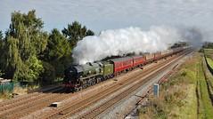 The Waverley (paul_braybrook) Tags: 35018 britishindialine southernrailway merchantnavyclass pacific steamlocomotive coltonjunction york northyorkshire thewaverley railwaytouringcompany charter railtour trains
