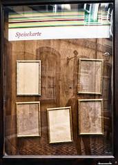 waar ? (roberke) Tags: fun lol kaders leeg empty five vijf reflections reflectie selfie selfportrait zelfportret leipzig germany duitsland restaurant straat street
