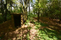 Stanton Shelter in the instructional camp (IntrepidExplorer82) Tags: airfield raf royal air force windrush abandoned gloucestershire control tower raid shelter barracks camp runway concrete