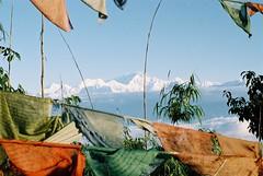 Himalaya (Dare to share) Tags: india tibetan asia sonada darjeeling westbengal himalaya viewpoint landscape mountains flags jonasthoren