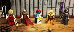 The Wolverine Fan Club (Doctor Allo) Tags: lego marvel xmen wolverine weapon x omega red lady deathstrike mystique sabertooth silver samurai