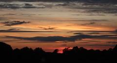 September sunset (dave.rossiter) Tags: sunset clouds landscape barton hartshorn buckinghamshire bicester preston bissett buckingham autumn red sky