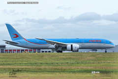 NEOS EI-NEW Boeing 787-9 London Stansted Airport 6 September 2019 (bananamanuk79) Tags: planewatch pictures aviation airplane airport london flying flight runway air travel transport pilot avgeek airways takeoff departure flyer vehicle outdoor airliner jet jetliner flyers travelling jumbo logo livery painted airplanes aicraft photos airline airliners airlines stansted worldwide spotter planespotting neos boeing787dreamliner boeing787 b787 boeing7879 einew