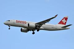 HB-JCJ  CDG (airlines470) Tags: msn 55025 cs300 a220 swiss international air lines cdg airport hbjcj