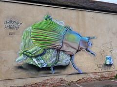 Mural in Cheltenham (for Cheltenham Paint Festival 2019) by Airborne Mark (chibeba) Tags: cheltenham town gloucestershire england english september 2019 autumn urban europe art streetart mural murals paint paintfest festival cheltenhampaintfestival cheltpaintfest colour