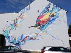 Mural in Cheltenham (for Cheltenham Paint Festival 2018) (chibeba) Tags: cheltenham town gloucestershire england english september 2019 autumn urban europe art streetart mural murals paint paintfest festival cheltenhampaintfestival cheltpaintfest colour