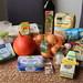 Zutaten für Kürbis-Zwiebel-Käse-Crostata