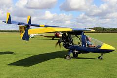 G-BWAI (GH@BHD) Tags: gbwai cfm cfmshadow cfmstreakshadow microlight aircraft aviation laa laarally laarally2019 sywellairfield sywell