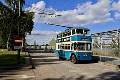 Trolleybus 746 Sandtoft Museum 08 Sep 19 (doughnut14) Tags: trolleybus bradford sandtoft cum 746 museum eku746