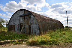 Nissen Hut (IntrepidExplorer82) Tags: airfield raf royal air force windrush abandoned gloucestershire control tower raid shelter barracks camp runway concrete