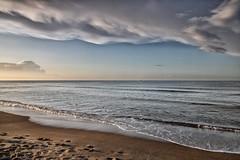Sunrise (Stefano Argentieri) Tags: alba sunrise mare sea cielo sky nuvole clouds sand spiaggia terracina sperlonga italia italy canon eos6dmkii ef24105iil