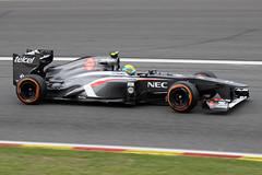 Sauber C32 Esteban Gutierrez (Mark Broekhans) Tags: spafrancorchamps spa formula1 sauber c32 ferrari gutierrez