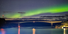 Aurora Borealis over Vefsnfjorden (ChristianMandel) Tags: auroraborealis northernlight nordlicht polarlicht norway norwegen vefsnfjorden kviting ilce7iii sonya7iii sonnartfe55mmf18za