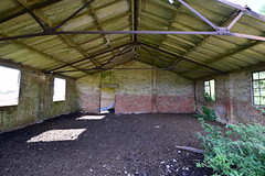 Instructional Site Building (IntrepidExplorer82) Tags: airfield raf royal air force windrush abandoned gloucestershire control tower raid shelter barracks camp runway concrete