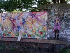 Mural in Cheltenham (for Cheltenham Paint Festival 2019) by Miss-ED (chibeba) Tags: cheltenham town gloucestershire england english september 2019 autumn urban europe art streetart mural murals paint paintfest festival cheltenhampaintfestival cheltpaintfest colour
