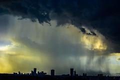 Storm over the city (FVillalpando) Tags: sunsetsummer stormcloudslightcitiesnaturelandscapeweather