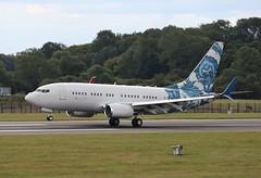 N737ER Boeing 737-7CJ BBJ (R.K.C. Photography) Tags: n737er boeing 7377cj bbj b737 bbjoneinc american aviation bizjet aircraft luton bedfordshire england unitedkingdom uk londonlutonairport ltn eggw canoneos750d