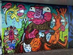 Mural in Cheltenham (for Cheltenham Paint Festival) (chibeba) Tags: cheltenham town gloucestershire england english september 2019 autumn urban europe art streetart mural murals paint paintfest festival cheltenhampaintfestival cheltpaintfest colour