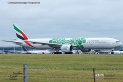 Emirates A6-ENH Boeing 777 Dubai Expo 2020 livery at London Stansted Airport 06 Sept 2019 (bananamanuk79) Tags: planewatch pictures aviation airplane airport london flying flight runway air travel transport pilot avgeek airways takeoff departure flyer vehicle outdoor airliner jet jetliner flyers travelling jumbo logo livery painted airplanes aicraft photos airline airliners airlines stansted worldwide spotter planespotting emiratesairlines emiratesstansted emirates boeing777 boeing777300 b777 a6enh expo dubaiexpo