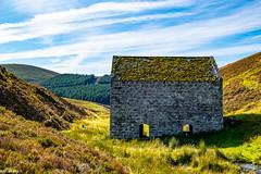 Iron Ore Mill and illisit Still @ the Foot of the Lecht-Scotland