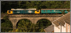 Bargoed Tractor - 15th (peterdouglas1) Tags: class37 37025 bargoed transportforwales englishelectric