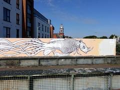 Mural in Cheltenham (for Cheltenham Paint Festival 2019) by dAUb (chibeba) Tags: cheltenham town gloucestershire england english september 2019 autumn urban europe art streetart mural murals paint paintfest festival cheltenhampaintfestival cheltpaintfest colour