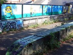 Mural in Cheltenham on the Honeybourne Line (for Cheltenham Paint Festival 2019) by TheAgent59 (chibeba) Tags: cheltenham town gloucestershire england english september 2019 autumn urban europe art streetart mural murals paint paintfest festival cheltenhampaintfestival cheltpaintfest colour