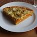 Kürbis-Zwiebel-Käse-Crostata (mein Viertel)