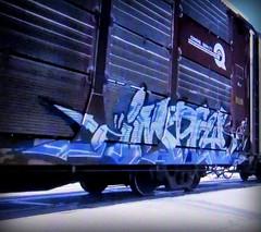 imply (timetomakethepasta) Tags: imply freight train graffiti art conrail autorack quality