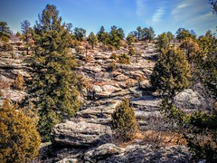 Spring Hiking at Castlewood Canyon (wjaachau) Tags: landscape nature rockformations hiking castlerock colorado canyon castlewoodcanyonstatepark inspiration