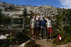 w33 (@GilAegerter / klahini.com) Tags: wallowas hiking mountains backpacking trails wilderness camping peaks