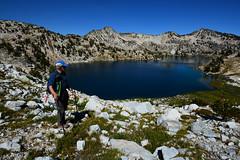 w26 (@GilAegerter / klahini.com) Tags: wallowas hiking mountains backpacking trails wilderness camping peaks