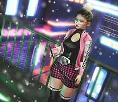 #1608 – Can I call you? (kleineraubkatze2.0) Tags: secondlife sl genusproject doux luas arcade paparazzi evermore versuta vanityevent insol uber