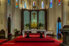 The Altar (Kool Cats Photography over 12 Million Views) Tags: altar church hdr architecture artistic art photographicart photography interior windows oklahoma oklahomacity canon ef1635mmf4lisusm canoneos6d