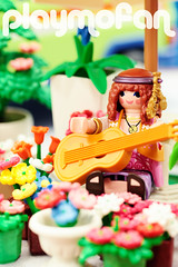 Hippy Flower Stall (Figraphix) Tags: playmobil hippy lovepeace