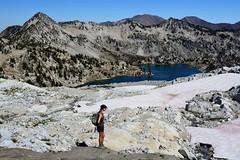 w21 (@GilAegerter / klahini.com) Tags: wallowas hiking mountains backpacking trails wilderness camping peaks